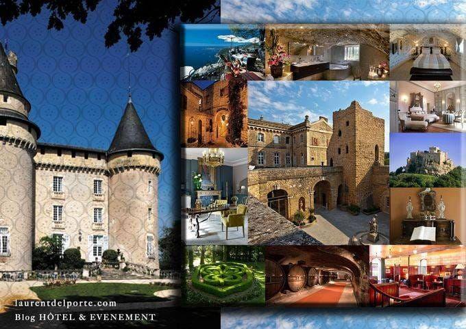 Moodboard Laurent Delporte Relais & Châteaux