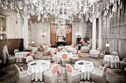Restaurant d'Alain Ducasse avant rénovation