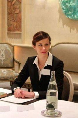 Claire Dupleix MOF Réceptionniste