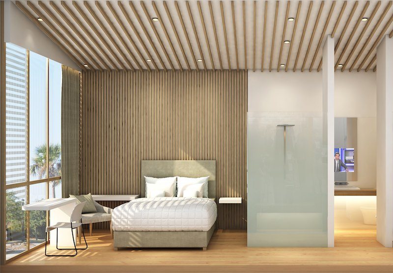 La Chambre d'hôtel du futur ….