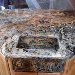 Kitchen Counter Options Quarter Sawn Oak Cabinets Laurentian - Monument, Granite And Stone Countertops ...