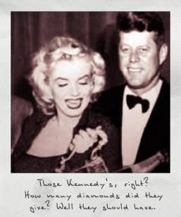 Kennedy mit Marylin Monroe - mit dem Hollywood Star soll Kennedy eine Affäre gehabt haben.