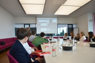 Workshop zum Thema Online-Journalismus