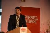 Der stellv. Chefredakteur Klaus Brinkbäumer eröffnete die Preisverleihung.
