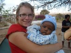 """""""Das Baby gehört zu einer Frau, die uns auf einem Schulcampingausflug versorgt hat."""""""