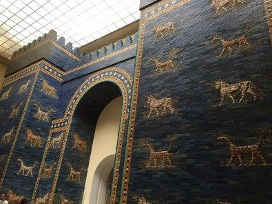 Porte d'Ishtar - Babylone - Erigée par Nabuchodonosor II (-580)