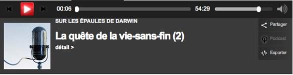 PODCAST DARWIN EPAULES TÉLÉCHARGER LES SUR DE