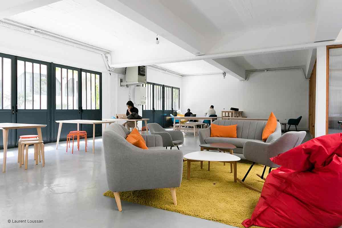 Le 71 Montreuil Espace de Coworking photo corporate©Laurent Loussan