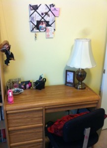 Desk, before.
