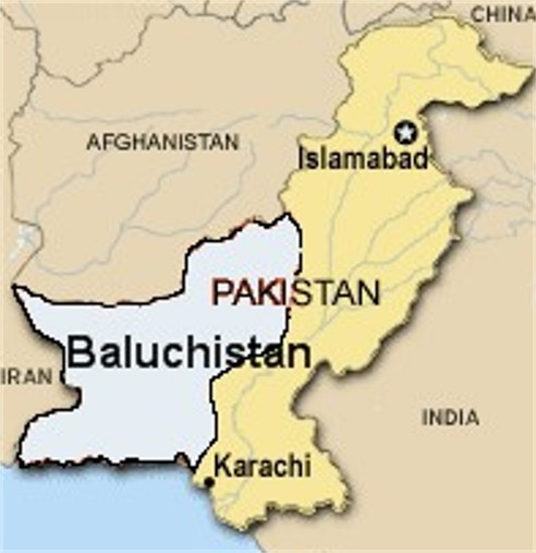 Baluchistan in Pakistan