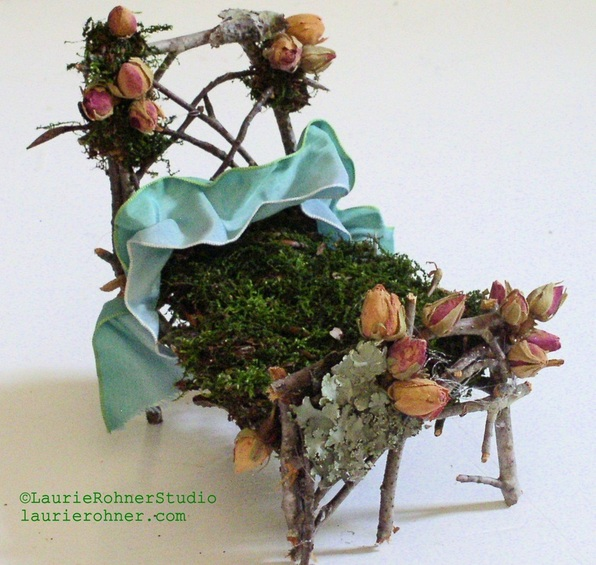 Woodland Fairy Bed Fairy Furniture