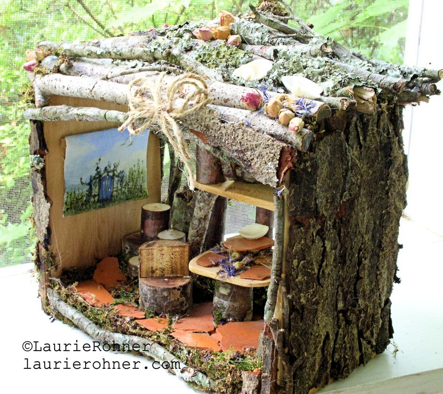 Twig Woodland Fairy House Apartment