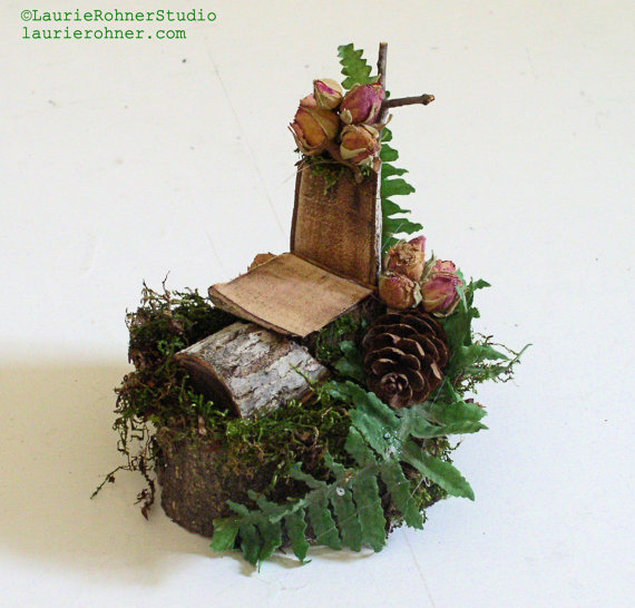 Branch Woodland Fairy Chair Furniture