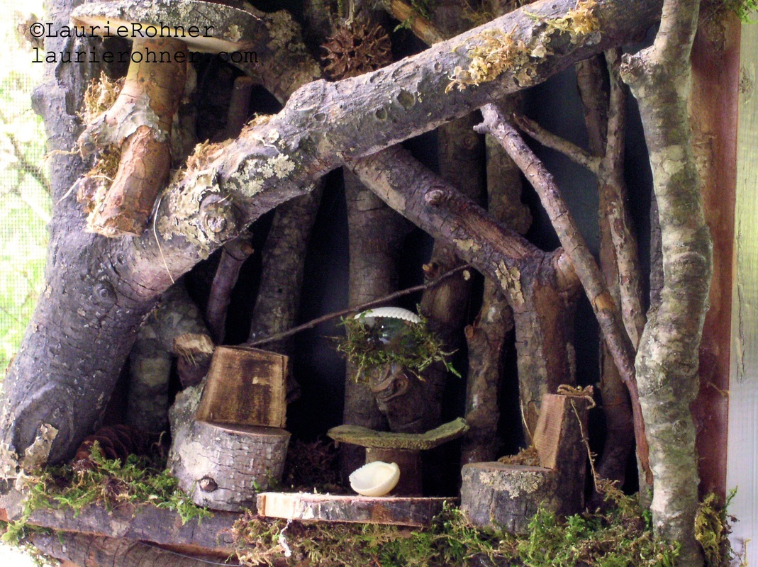 woodland fairy house buy at laurierohner.com