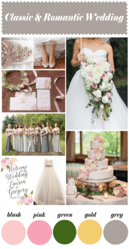 Classic and Romantic Wedding