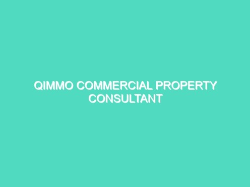Qimmo Commercial Property Consultant