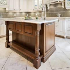 Kitchen Sink Island For Office Don T Make These Design Mistakes Cabinets With Contrasting Wood 2