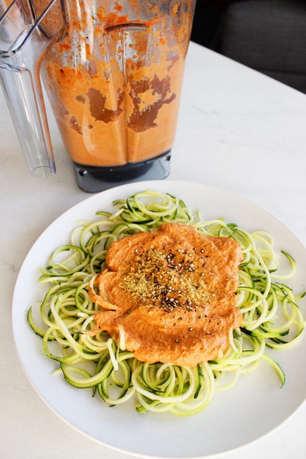 whole 30 paleo roasted red pepper sauce vegan