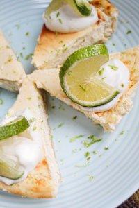 Sugar-Free Keto Lime Cheesecake [Gluten-Free]