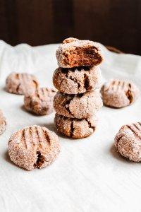 Pumpkin Paleo Ginger Sparkle Cookies