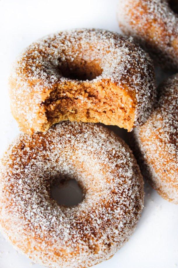 Pumpkin Spiced Keto Doughnuts