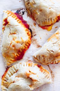 Paleo grain free pizza pockets