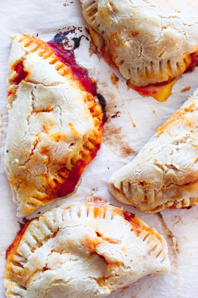PALEO + GRAIN-FREE PIZZA POCKETS