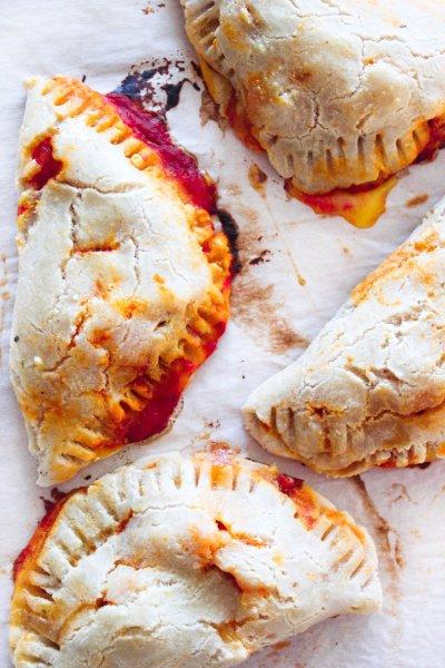 Paleo grain free pizza pockets