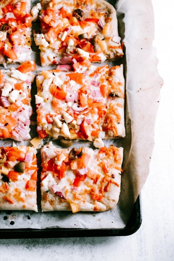 Vegan Gluten-Free Pizza Crust