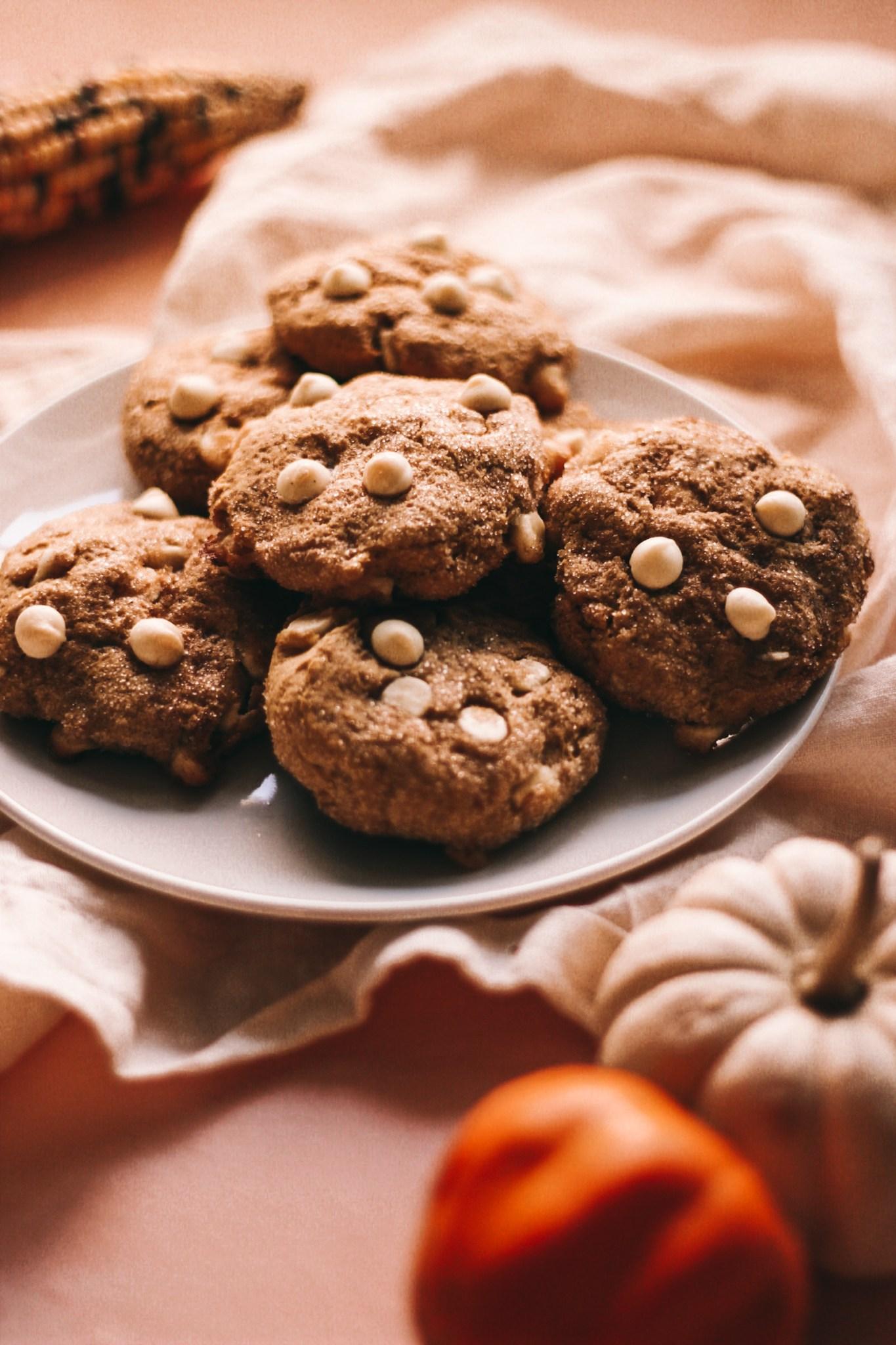Gluten-Free-White-Chocolate-Pumpkin-Snickerdoodles-4