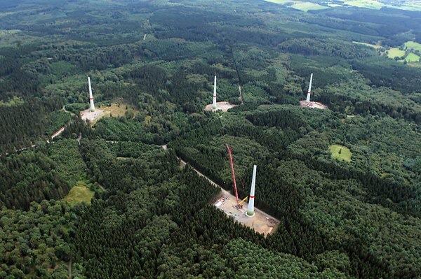 Waldbesitzer verweigern Windradausbau!