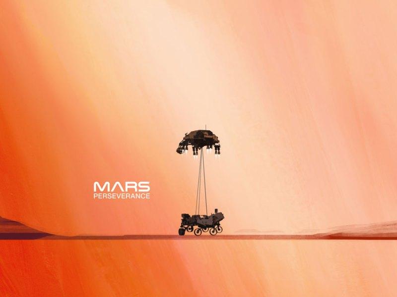 Weit ab von Rezepten und noch weiter ab der Erde…die Landung auf dem Mars tonight!