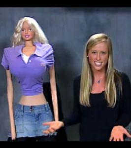 Barbie grandeur nature