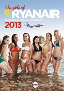 La couverture du calendrier sexy Ryanair 2013
