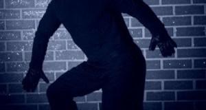 Un voleur en flagrant délit