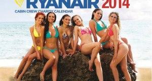Le calendrier sexy des hôtesses de l'air Ryanair 2014