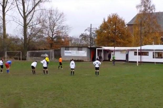 [Vidéo] Belgique : 38 buts à 0 lors de ce match de foot !