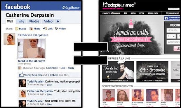 Vous pensez que Facebook se transforme en site de rencontre pour adulte