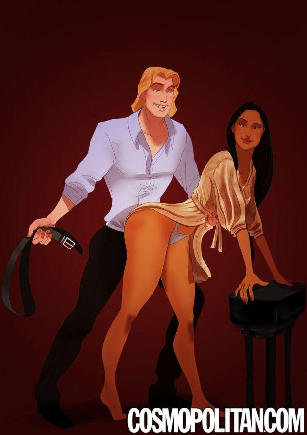Pocahontas et John Smith