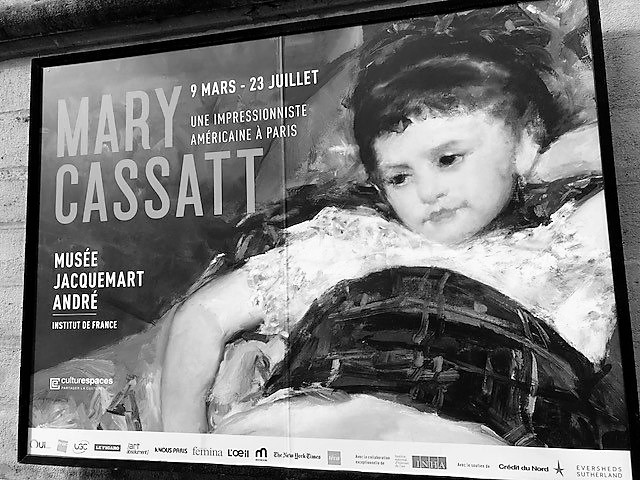 LA DEMOISELLE AMERICAINE  MARY CASSATT