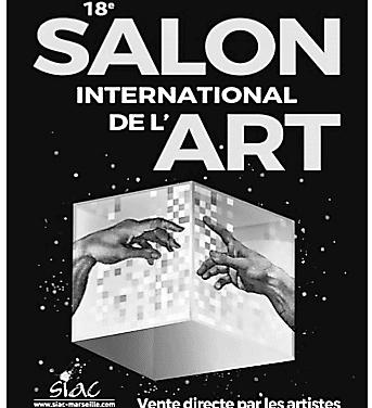 LE SIAC 18e SALON DE L ART  DU  16 AU 19 MARS 2018 !