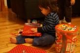 On ouvre les cadeaux
