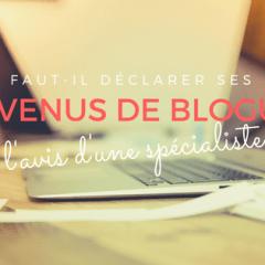 Faut-il déclarer ses revenus de blogue? L'avis d'une spécialiste