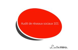 Audit de réseaux sociaux 101