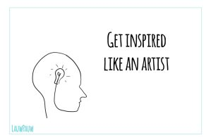 Getting inspired and generating idea's … how do you do that?