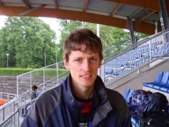 Mark Kölzow Landesmeister Senioren M 35 über 100 und 200m