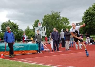 Speerwurf Männer Jonas Baseda ATB Hamburg Sieger mit 69,56m