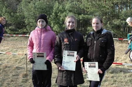 v.l.n.r.: Sarina Holsten, Tami Gerken und Doreen Brünjes