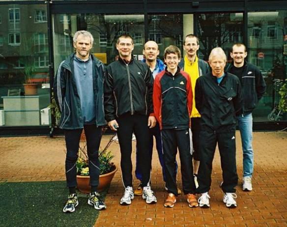 Die LAV-Läufergruppe in Berlin 2008