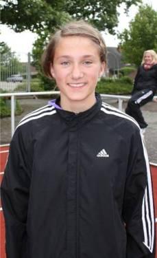 3. Platz Block Lauf Sarina Holsten